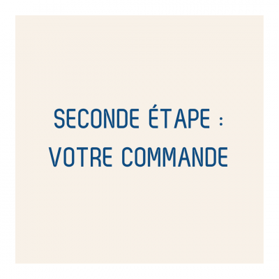 Seconde étape