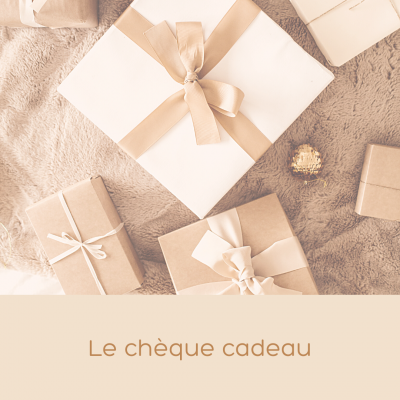 Le Chèque Cadeau - Atelier Bombus