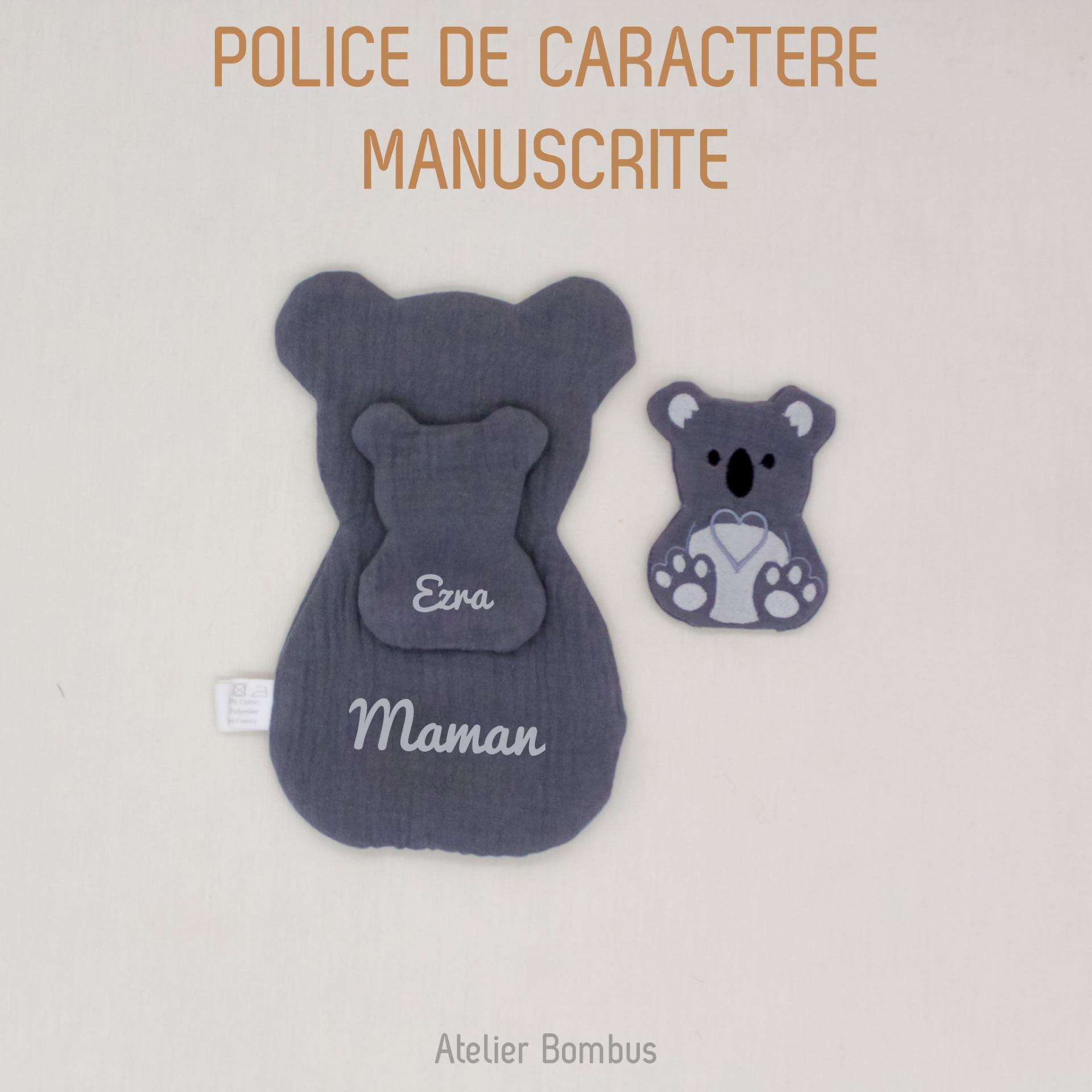 Police manuscrite