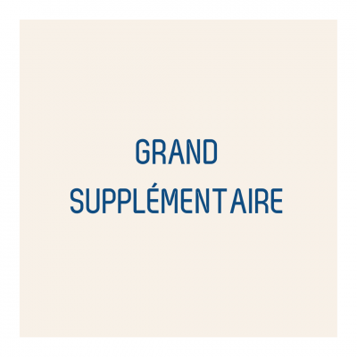 Grand supplémentaire